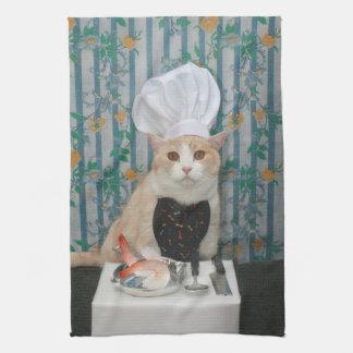 Chef Bubba Kitty Towel
