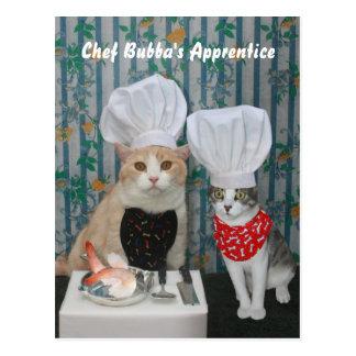 Chef Bubba's Apprentice Postcard