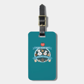 chef bubbly's cooking show luggage tag