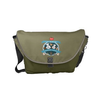 chef bubbly's cooking show small messenger bag