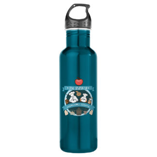 chef bubbly's cooking show stainless steel water bottle