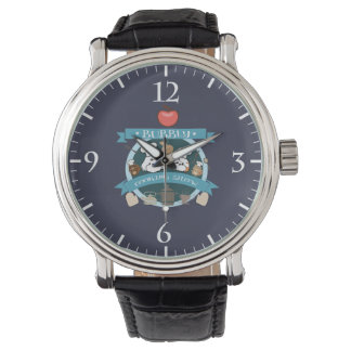 chef bubbly's cooking show wristwatch
