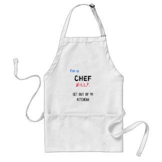 Chef bully apron