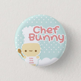 Chef Bunny Button
