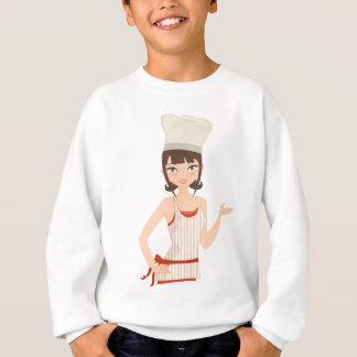 Chef bust sweatshirt