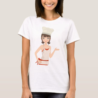 Chef bust T-Shirt