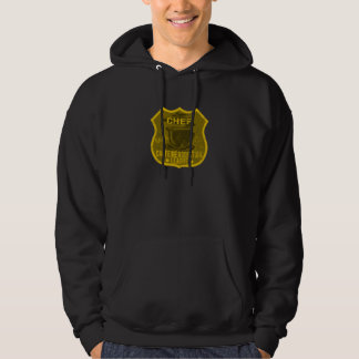 Chef Caffeine Addiction League Hooded Sweatshirt