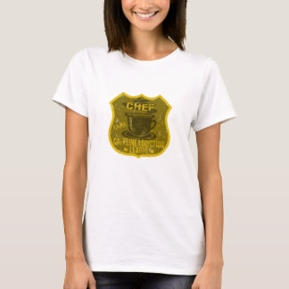 Chef Caffeine Addiction League T-Shirt
