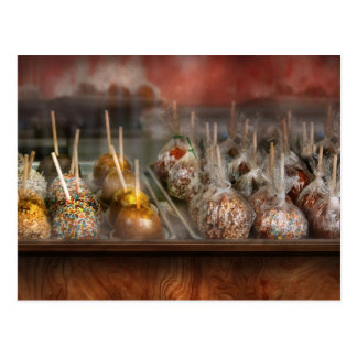 Chef - Caramel apples for sale Post Card