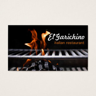 Chef Catering Restaurant Cooking Classes Business Card