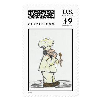Chef - C'est Magnifique! Stamps