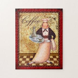 Chef Coffee Jigsaw Puzzle