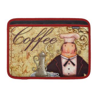 Chef Coffee MacBook Sleeves