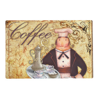Chef Coffee Placemat