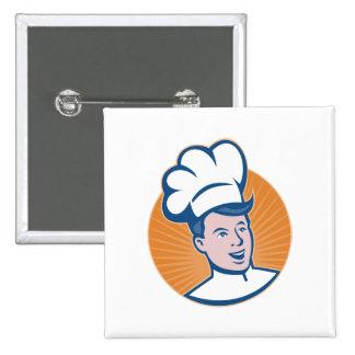 Chef Cook Baker Retro Pins