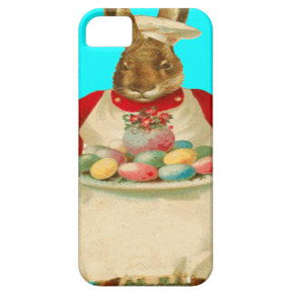 Chef Cook Easter Bunny Rabbit Colored Egg iPhone SE/5/5s Case