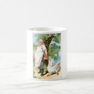 Chef Cook Goose Vintage Food Ad Art Coffee Mug