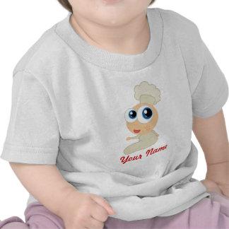 Chef Cooking Baby Cartoon Baker Tshirts