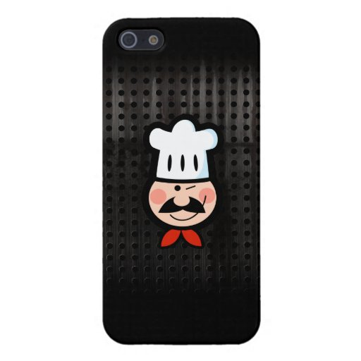 Chef; Cool Black Covers For iPhone 5