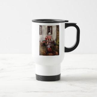 Chef - Coring Apples Coffee Mugs