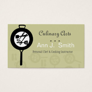 chef business cards