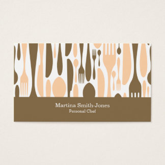 Chef Culinary Professional Business Card