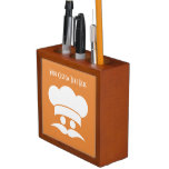 Chef custom color desk organizer Pencil/Pen holder