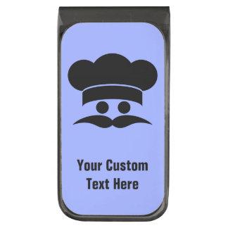 Chef custom color & text money clip