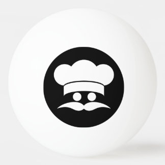 Chef custom color & text ping pong balls ping pong ball