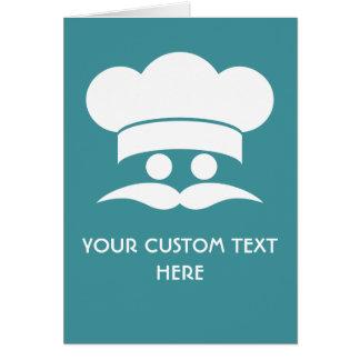 CHEF custom greeting cards