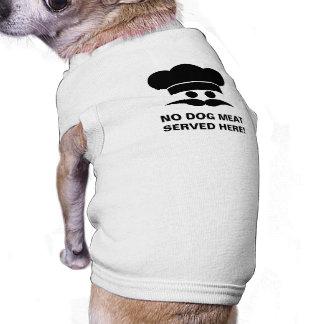 CHEF custom text pet clothing