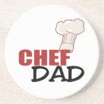 Chef Dad Beverage Coasters
