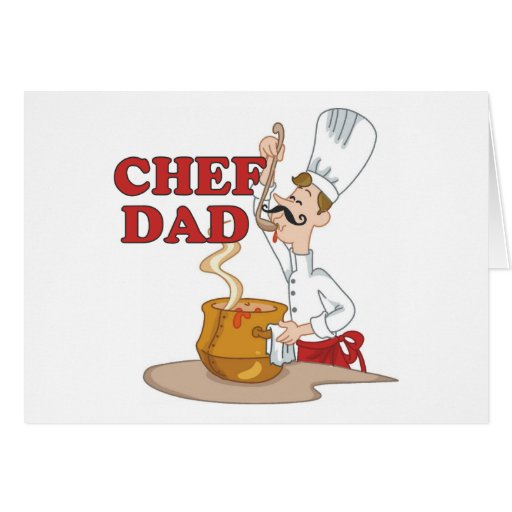 Chef Dad Father Gift Card