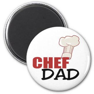 Chef Dad Gift 2 Inch Round Magnet