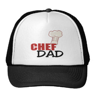 Chef Dad Gift Trucker Hat