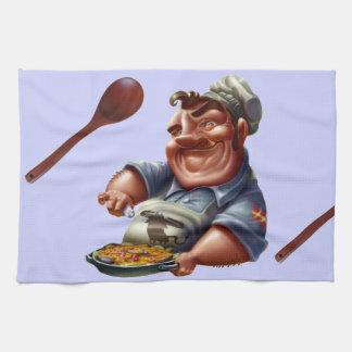 Chef de Cocina Española con Paella - M1 Toallas De Cocina