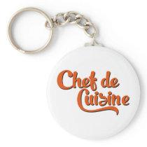 Chef de Cuisine Keychain