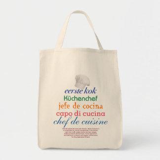 chef de cuisine tote bag