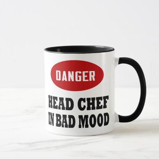 Chef divertido taza
