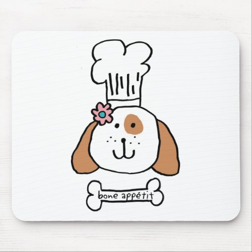 Chef Doggie Mouse Pad