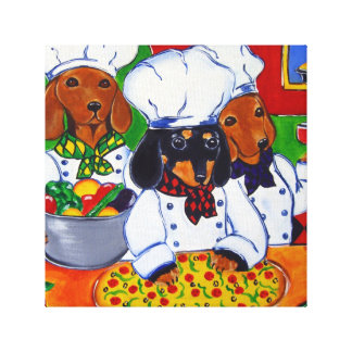 CHEF DOXIES CANVAS PRINT