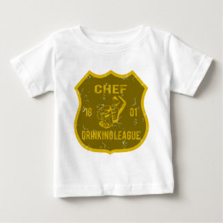 Chef Drinking League Baby T-Shirt