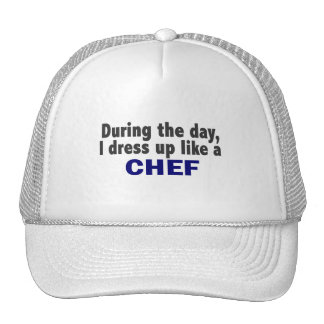 Chef During The Day Mesh Hats