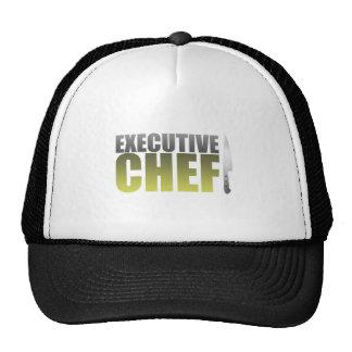 Chef ejecutivo amarillo gorros