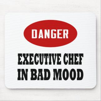 Chef ejecutivo divertido alfombrilla de ratones