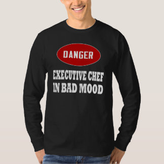 Chef ejecutivo divertido polera