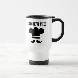 Chef ejecutivo tazas de café