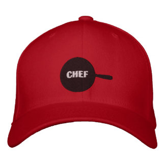 Chef Embroiderd Cap