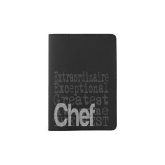 Chef Extraordinaire Passport Holder