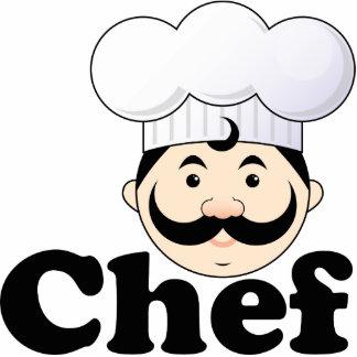 Chef Face Statuette